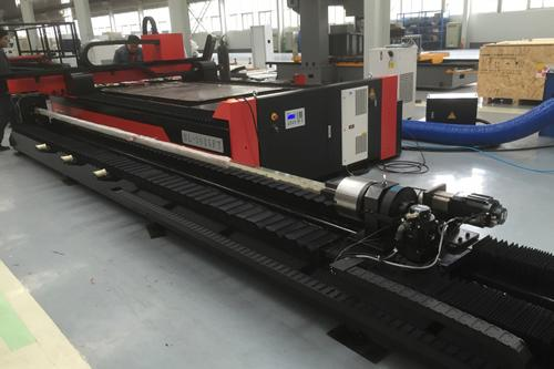 BL3015FT Fiber Laser Cutting Machine with Tube Cutting Function